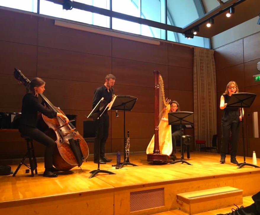 Performing new works by Master's Composition Students at the RAM - April 2019