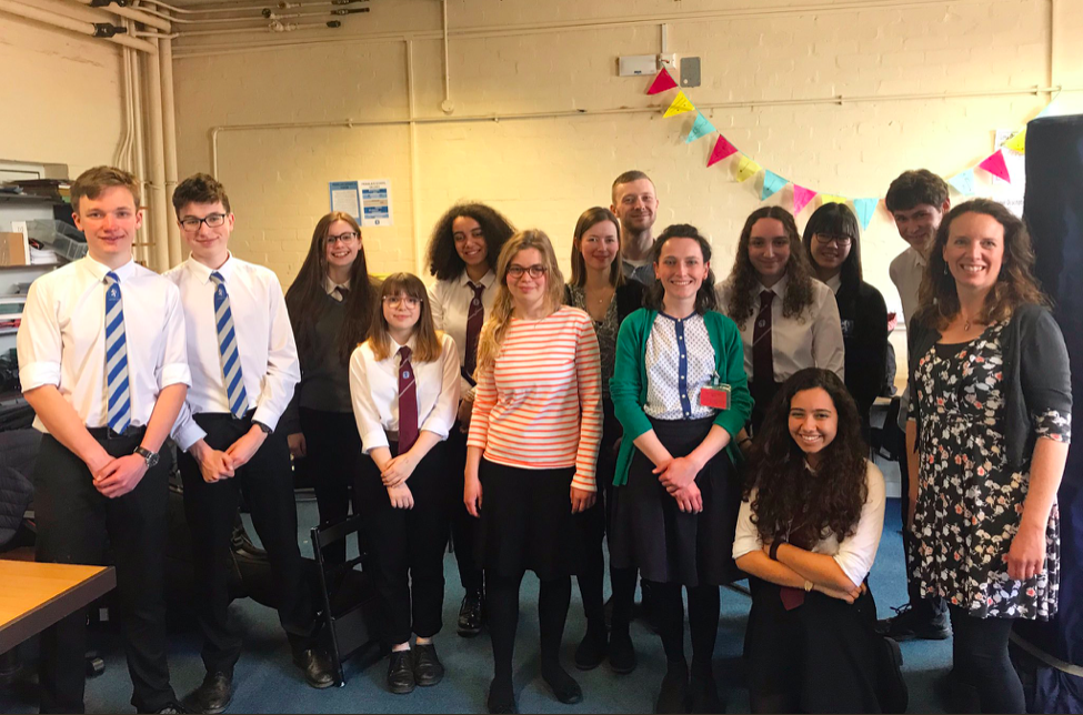 Young Composers of Dyfed Workshop at Penglais School in Aberystwyth - April 2019
