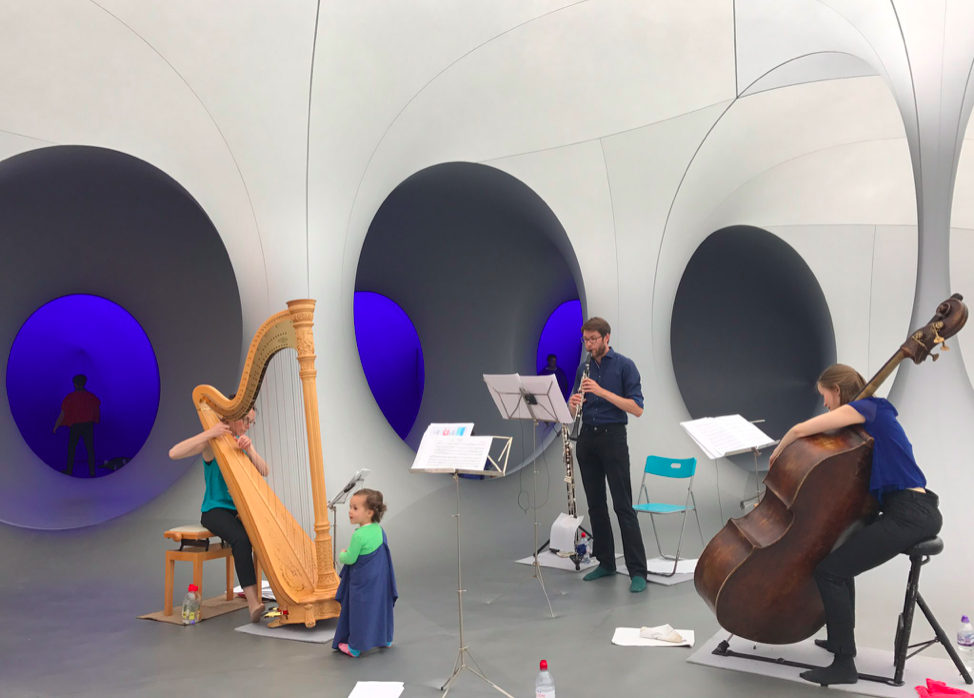The harp intrigues at Colourscape Festival - September 2017